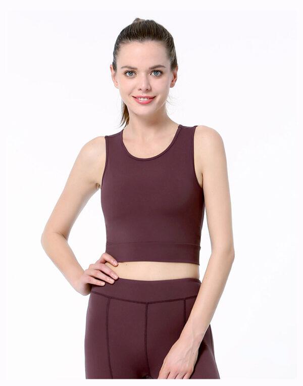 Топ спортивный женский, спортивная одежда для фитнеса