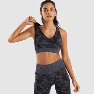 Топ спортивный женский короткия для фитнеса